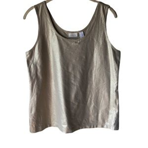 Chico's • Sparkly Tank Blouse